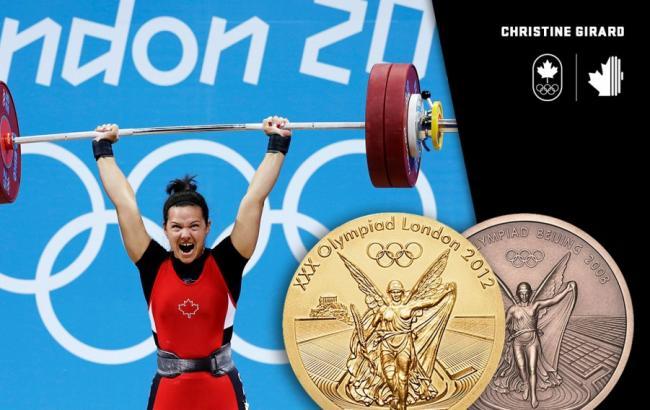 Канадская тяжелоатлетка Жирар признана чемпионкой Олимпиады-2012