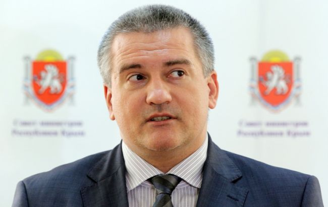 Аксьонов: Крим відмовиться від електроенергії з України