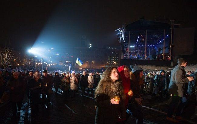 Фото: в годовщину расстрела Майдана в Украине пройдут массовые мероприятия