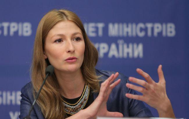 Фото: первый заместитель министра информационной политики Украины Эмине Джапарова