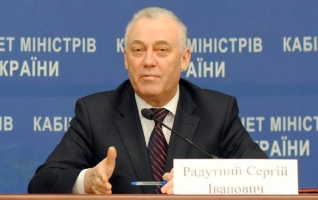 Кабмін прийняв відставку глави ДМС Радутного