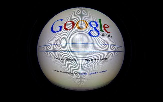 """Фото: обшуки в іспанському офісі корпорації """"Гугл"""" (AFP Photo)"""