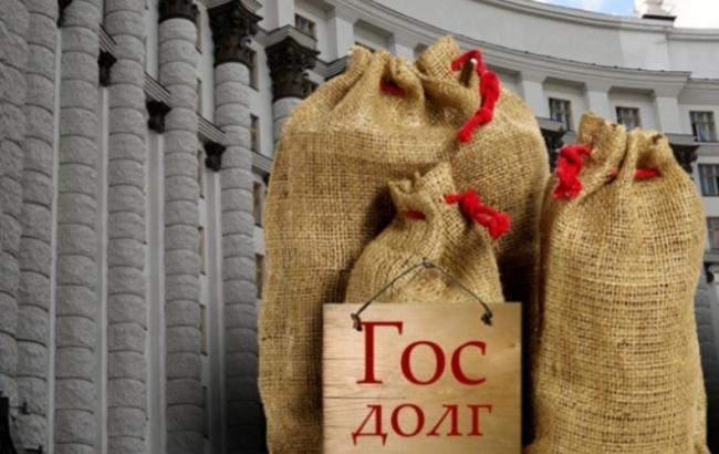Госдолг Украины в январе увеличился на 240 млн долларов