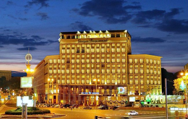 Великий готель у центрі Києва продадуть з аукціону