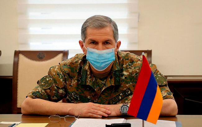 Звільнений глава Генштабу Вірменії подав до суду