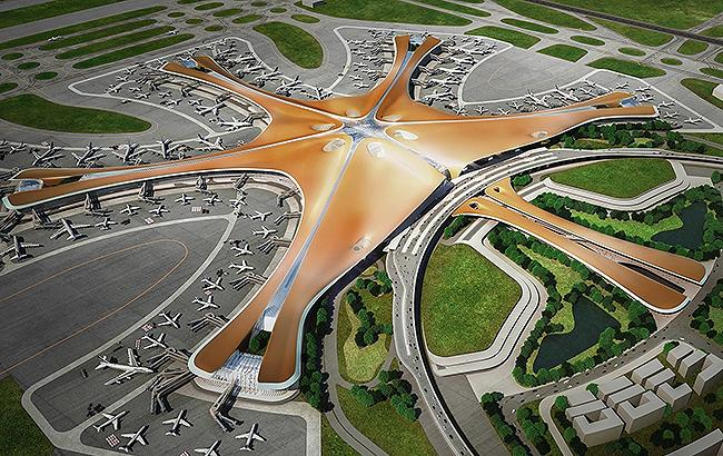 Фото: Проект аеропорту (gov.cn)