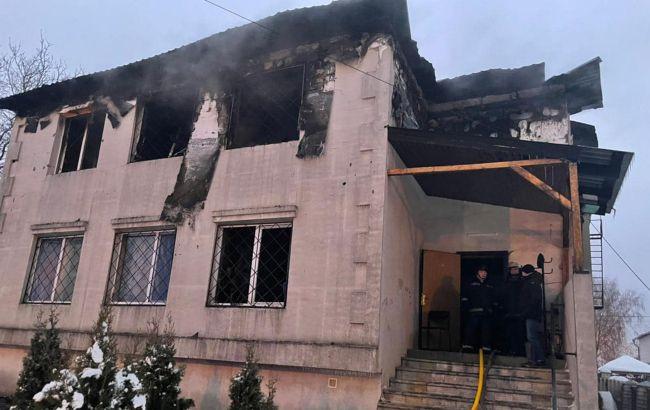 Пожар в доме престарелых в Харькове: умер один из спасенных