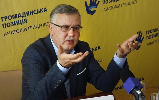 Анатолий Гриценко: Не нужно бояться авторитарного режима