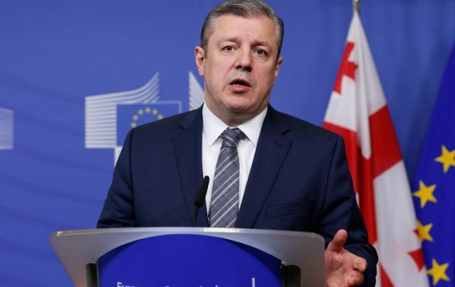 Фото: премьер-министр Грузии Георгий Квирикашвили