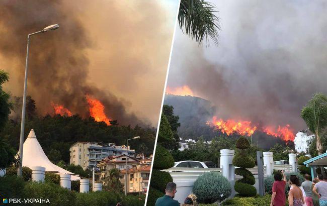 Масштабні пожежі в курортних країнах тривають: де небезпечно відпочивати туристам