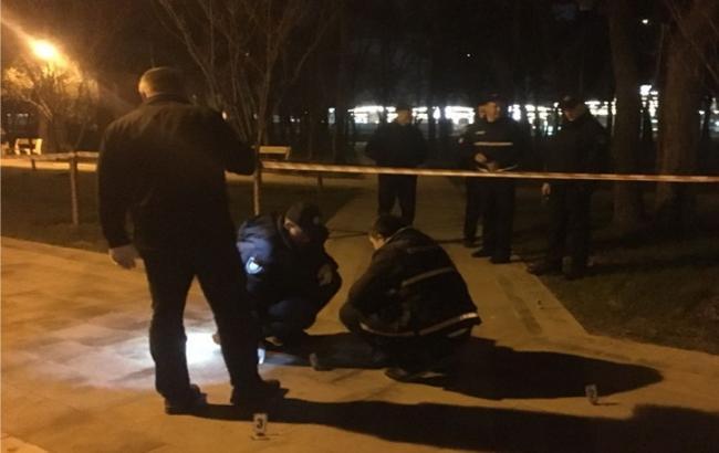 Фото: місце вибуху в Києві (kyiv.npu.gov.ua)