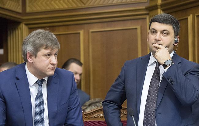 Александру Данилюку (слева) и Владимиру Гройсману еще придется выслушать много предложений к закону о СФР