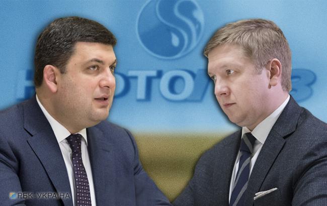 B Гройсман, и Коболев публично и непублично подчеркивают, что между ними нет личностного конфликта (Коллаж: РБК-Украина)