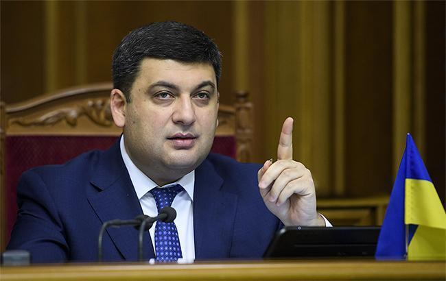 Гройсман: ні в кого з міністрів немає мандату вести переговори з РФ