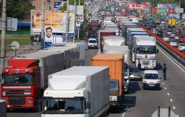 Фото: грузовые перевозки немного увеличились