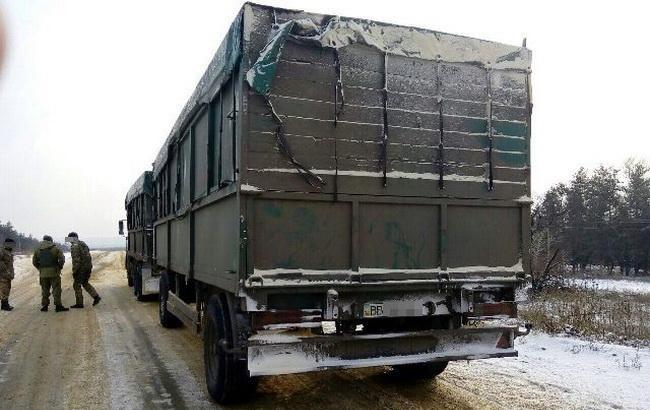Фото: боротьба з контрабандою на лінії розмежування в зоні АТО (прес-центр СБУ)