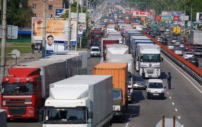 Фото: вантажні перевезення істотно скоротилися