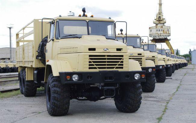 Фото: производство грузовиков существенно выросло