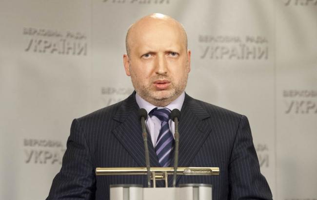 Турчинов: теракти в Парижі мали на меті налякати та деморалізувати увесь світ
