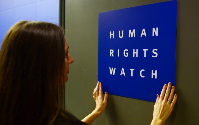 Власти Израиля обвинили Human Right Watch вработе напалестинскую пропаганду