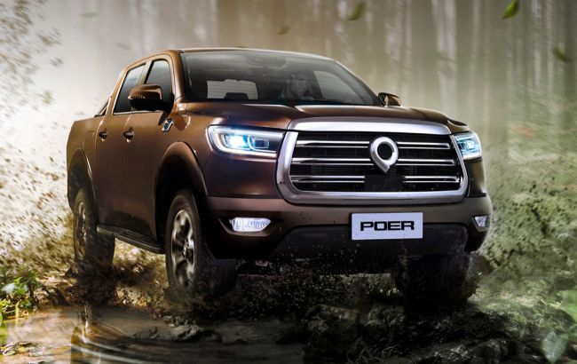 Дорожче Toyota Hilux і Mitsubishi L200: в Україні представлено 5,4-метровий пікап Great Wall Poer
