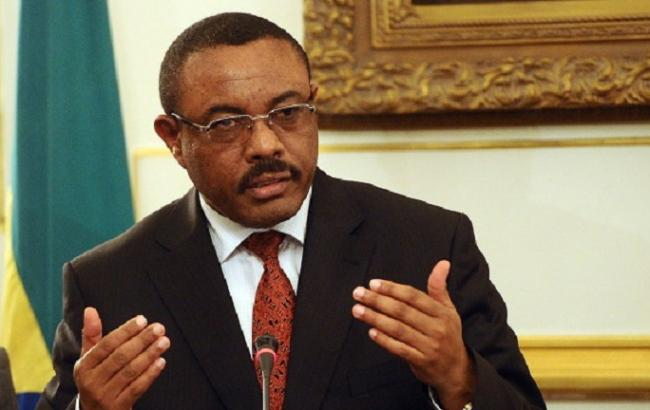Фото: премьер-министр Эфиопии Хайлемариам Десалень