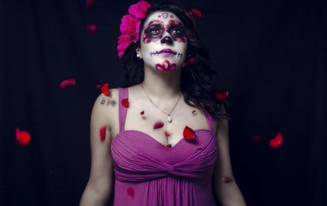 Фото: макіяж на Хеллоуїн (pixabay.com/palvarezd89)