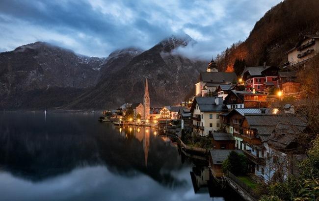 Фото: Халльштатт, Австрия