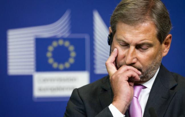 Еврокомиссар Хан объявил, чтоЕС рассмотрит украинский безвиз вконце осени