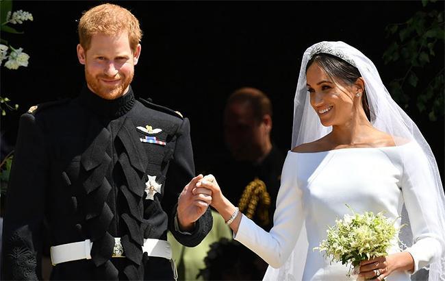 Фото: Свадьба принца Гарри и Меган Маркл (instagram.com-theroyalfamily)