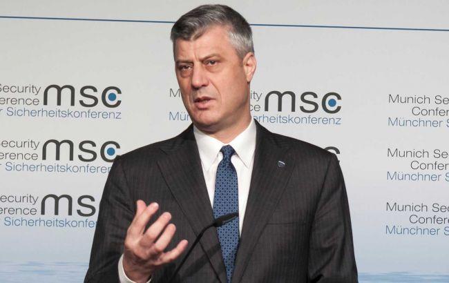 Глава Косово готов уйти в отставку только после суда в Гааге