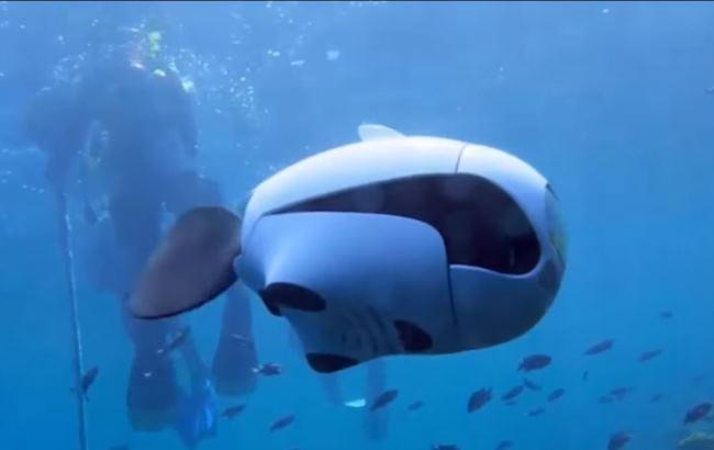 У США створили рибу-безпілотника для підводної зйомки