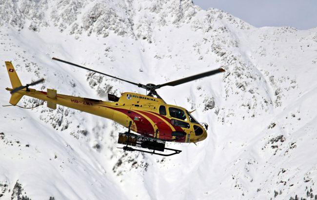 Возле Куршевеля разбился вертолет, два человека погибли