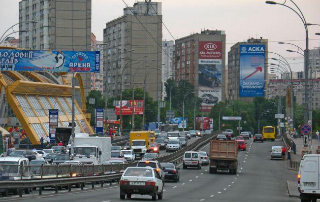 Фото: вулиця Вадима Гетьмана в Києві
