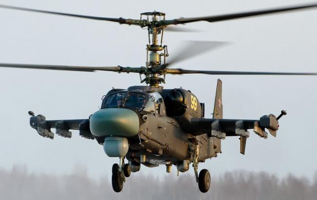 Фото: вертолет Ка-52