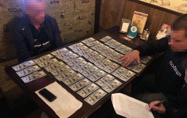 Поліція затримала на хабарі полковника Генштабу ЗСУ