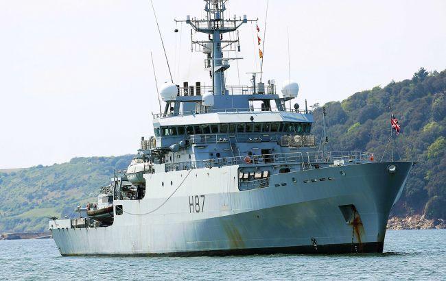 ВМС Британии заметили высокий уровень активности кораблей РФ во время пандемии