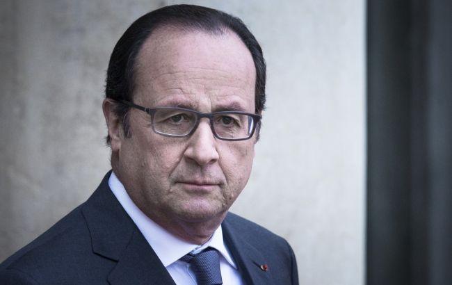 Фото: Франсуа Олланд назвав кількість важко поранених у результаті теракту