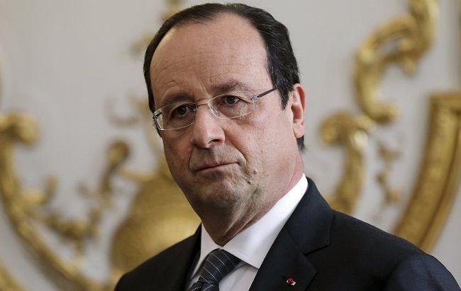 Олланд сомневается в участии Франции в миротворческой миссии для Донбасса