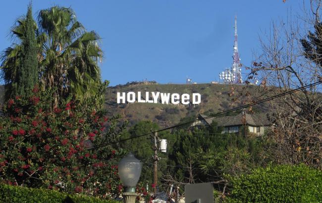 Фото: Переделанная надпись Hollywood (vice.com)