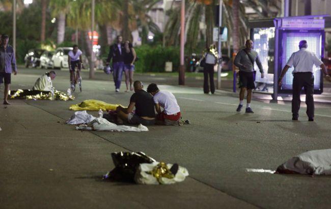 Фото: теракт в Ніцці