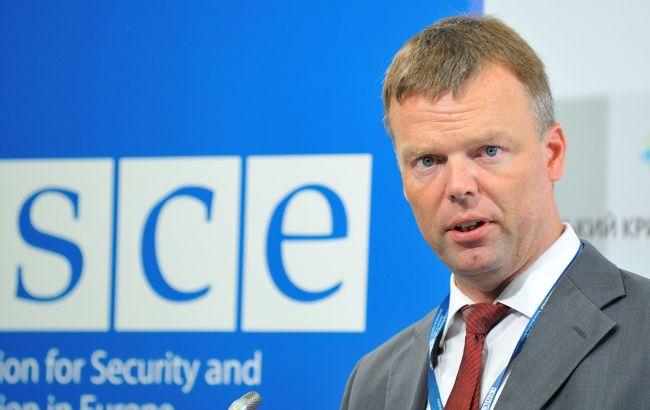 Фото: первый заместитель руководителя Специальной мониторинговой миссии ОБСЕ Александр Хуг