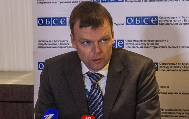 Относительное спокойствие в Широкино завершилось, - ОБСЕ
