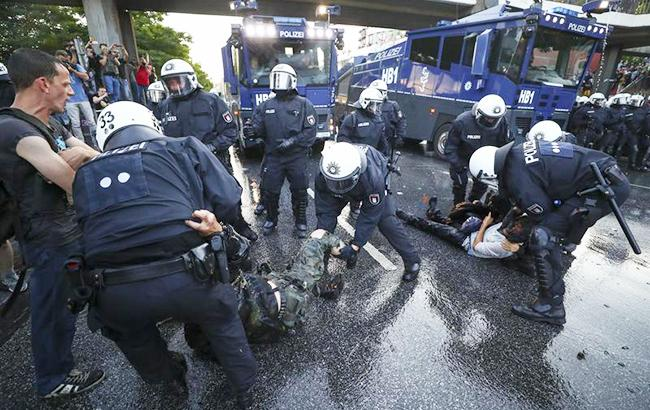 ВГамбурге после беспорядков вовремя саммита G20 арестовали 2-х граждан России