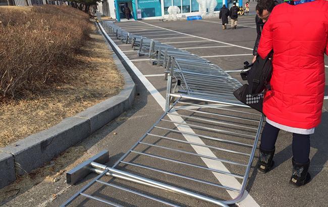 Олимпийский парк в Южной Корее эвакуируют из-за сильных ветров