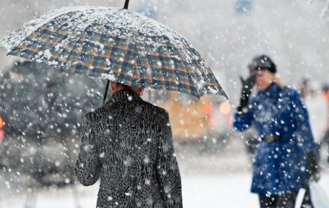 Фото: Погода в Украине 27 ноября (Fakty ICTV)