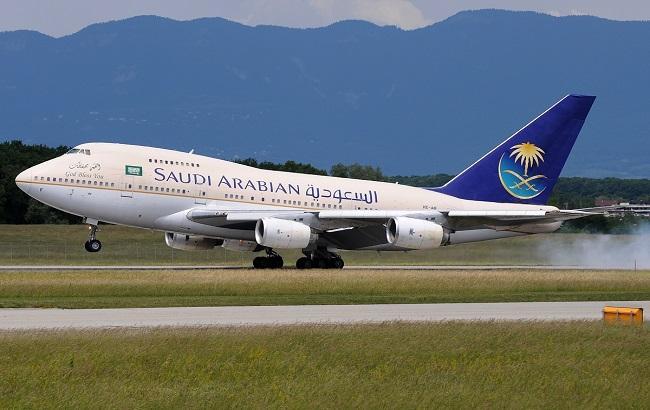 Фото: літак Saudi Airlines