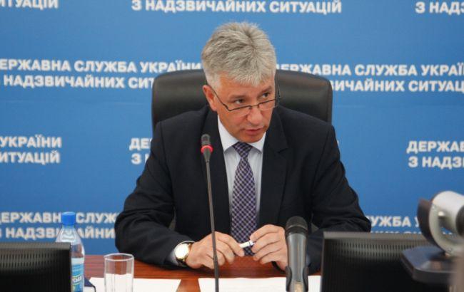 Фото: глава ДСНС Микола Чечоткін