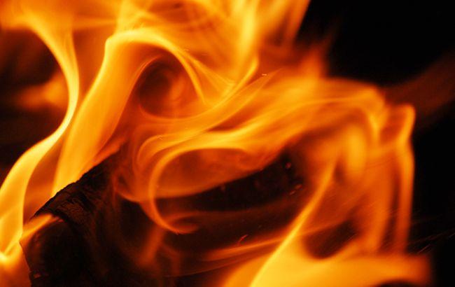На Манхэттене горит жилое здание