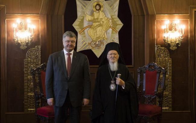 Порошенко під час візиту до Туреччини зустрінеться зі Вселенським патріархом Варфоломієм